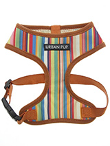 Henley Striped Harness - Our Henley Striped Harness is a contemporary style and the striped pattern is clean sharp and right on trend. It is lightweight and incredibly strong. Designed by Urban Pup to provide the ultimate in comfort, safety and style. It features a breathable material for maximum air circulation that helps...